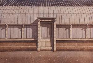k Varjot 1990, akvatinta etsaus, 27cmx40cm pieni